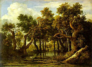 Ruisdael, The Marsh