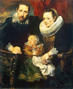 Van Dyck, Family Portrait ,   1621