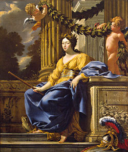 Vouet Simon, Allegorical Portrait of Anna of Austria as Minerva ,   After 1643